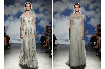 Única y radiante, así lucirás con los vestidos de novia primavera 2015 de Jenny Packham