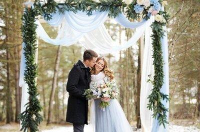 Подготовка к зимней свадьбе: всё что необходимо знать!