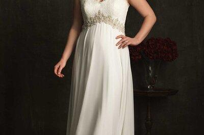 Los vestidos de novia perfectos para tallas extra: Presume esas curvas con orgullo en tu boda