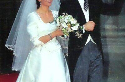 La variedad de la década de los 90 en vestidos de novia
