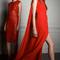 Vestidos de fiesta 2014 en color rojo intenso para boda glam