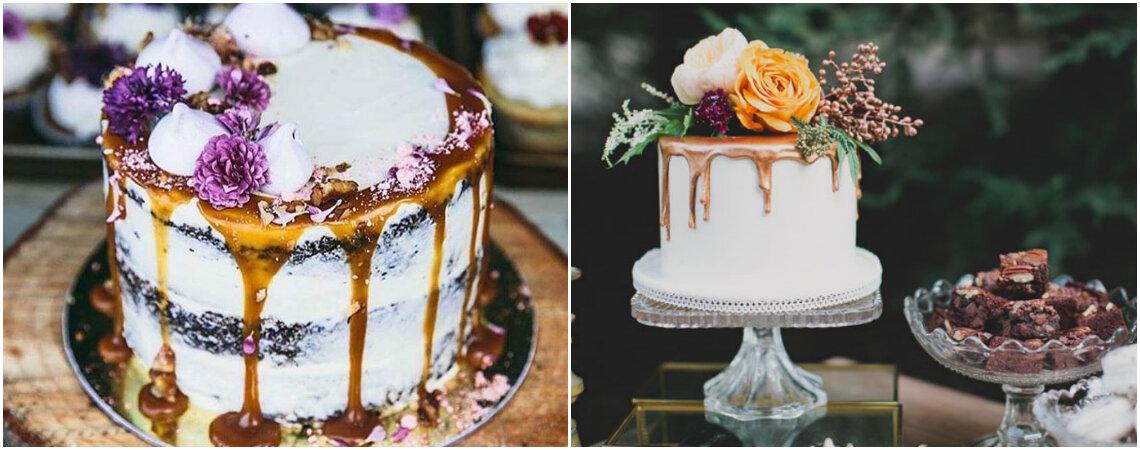 Drip Cake, el pastel de bodas que gotea creatividad y encanto