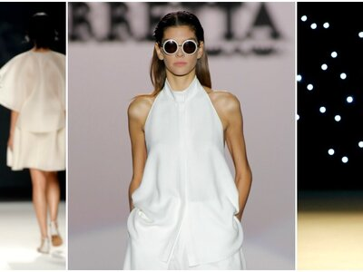 Los looks para novia de la Mercedes Benz Fashion Week Madrid primavera 2017