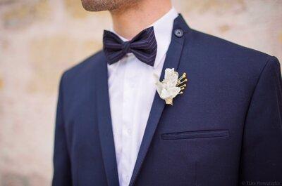 Futurs mariés, accessoirisez votre costume pour être un parfait dandy