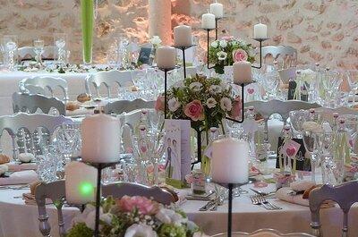 10 idées pour décorer votre mariage avec des fleurs !