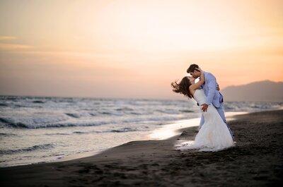 Julie et Jean-Christophe : Un superbe mariage thème oiseaux et liberty en Andalousie
