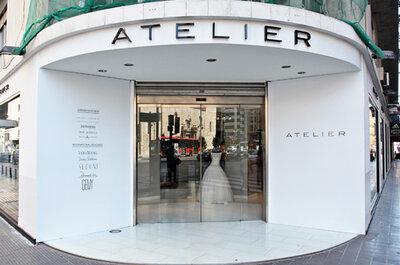 Lujo y exclusividad en Atelier, la nueva tienda de vestidos de novia en Valencia