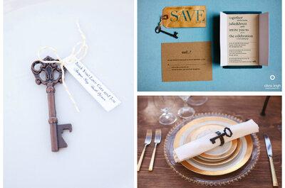 Klucz do małżeństwa: jak kreatywnie wykorzystać ten motyw na własnym ślubie?