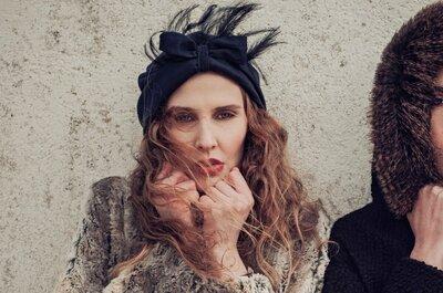 Les bijoux de tête tendances pour les invitées à un mariage en 2015