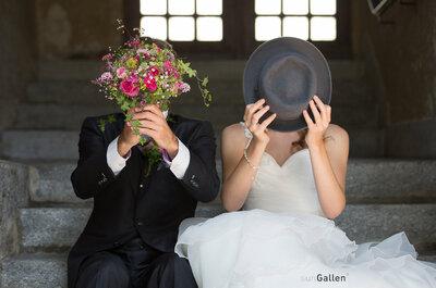 Die 6 besten Hochzeitsfotografen für St. Gallen: 1,2,3 - verewigt!