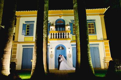 Lídia e Rodrigo: casamento vintage romântico em fazenda centenária de São Paulo