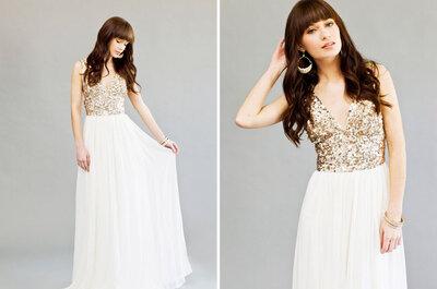 Vestidos de noiva: a delicada diferença
