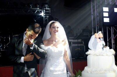 Bom gosto e muita felicidade: o casamento de Jaqueline e Thiago