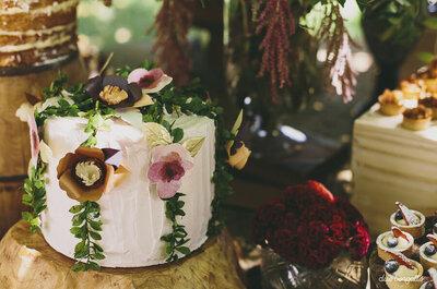 Os BOLOS mais PERFEITOS para mini weddings: deliciosas miniaturas!