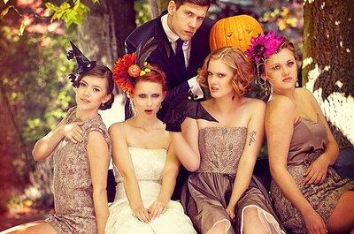 Ślubna sesja zdjęciowa na Halloween!