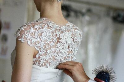 Beauty-Look für Bräute von Oscar de la Renta