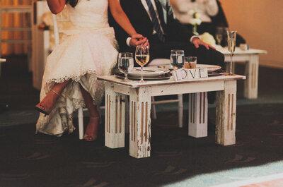 Así se ve una boda ultra glam en un club de yates... ¡La amarás!