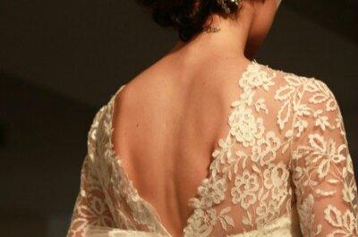 Os românticos e cheios de estilo vestidos de noiva Oscar de la Renta 2014