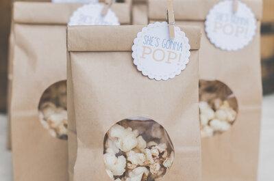 14 detalles deliciosos que le encantarán a los invitados de boda