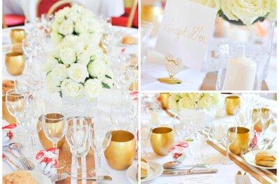 Un mariage aux couleurs de l'or