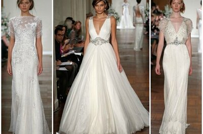 Jenny Packham Fall 2013 Bridal Collection, per essere una sposa elegante come la principessa Kate!