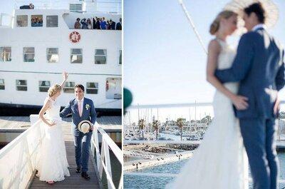 O mar como tema no seu casamento
