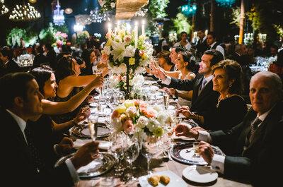 ¿Cómo sentar a tus invitados en las mesas? ¡Nueve trucos para hacerlo como una experta!