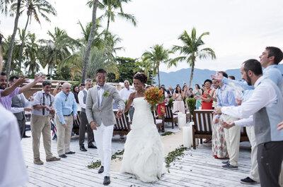 Paula & Chang: casamento ao pôr do sol em Ilhabela MEGA lindo e emocionante!