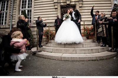 Anne & Cédric : Une rencontre électrique, une demande romantique et un joli mariage à Nantes