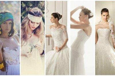 Trendy ślubne 2013: toczki, wianki, welony, kapelusze i opaski.