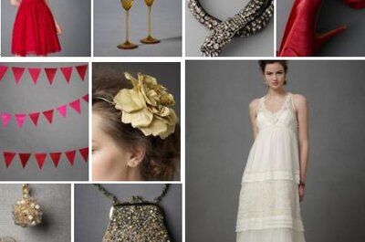 Ideas para decorar una boda con detalles en color rojo y blanco