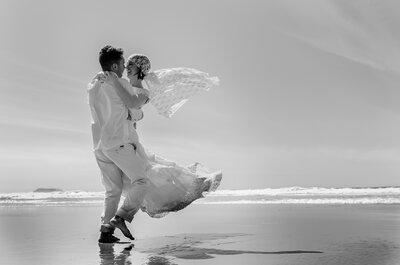 Casamento lindo à beira do Rio Guaíba: Gláucia e Júlio celebram seu amor