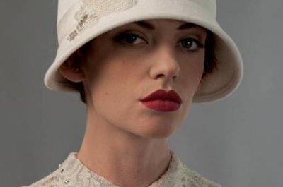Selección de sombreros para novia 2013 de Louise Green Millinery