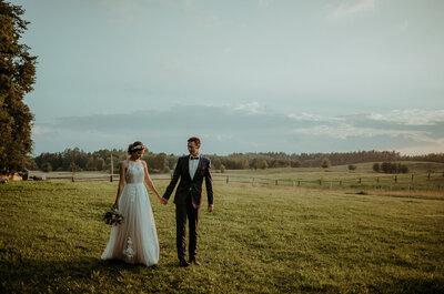 Ich miłość rozkwitła w Polsce i Izraelu, epicko-rustykalny ślub i wesele zachwyca!