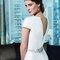 Suknia ślubna w styu industrialnym, Foto: Justin Alexander Signature 2015
