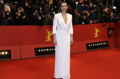 Juliette Binoche approda alla Berlinale 2015: ecco un look tutto da copiare!