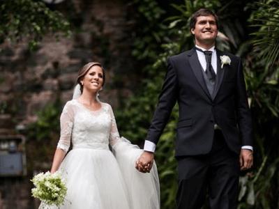 Magia en cada rincón: Enamórate de la boda de Mariana y David