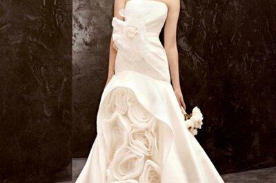 Vestidos de novia económicos Vera Wang 2013 para David's Bridal