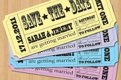 Save the date per il matrimonio: 5 tendenze per il 2014 tutte da copiare