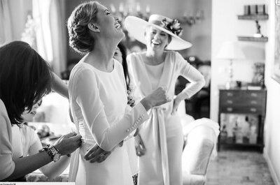 ¡Sonríe! Una novia sonriente siempre está más guapa: 11 claves para conseguirlo