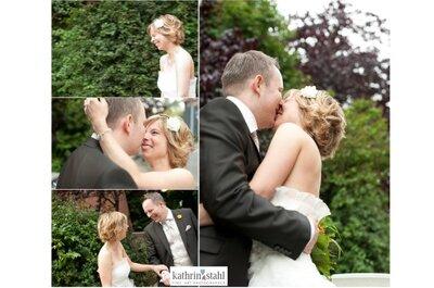 First Look - oder wann darf der Bräutigam seine Braut sehen? Tipps von Hochzeitsfotografin Kathrin Stahl