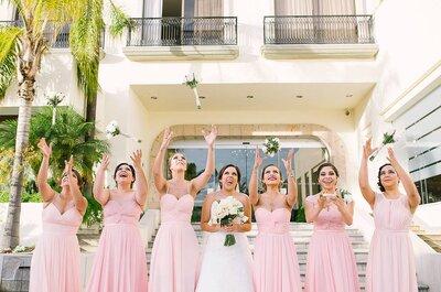 7 cualidades básicas que deben tener las damas de boda: La última es vital