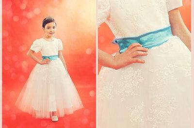 Sukienki na wesele dla dzieci - marka F&Ż