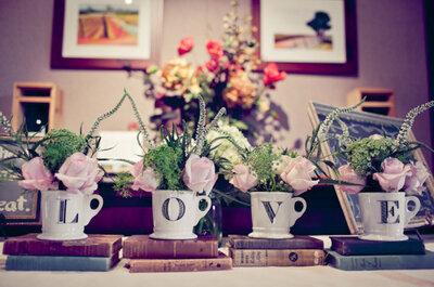 Decora tu boda con libros, la tendencia más original de la temporada: Tips para integrarla