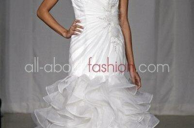 Ausgefallene Brautkleider aus der Simone Carvalli Kollektion 2012