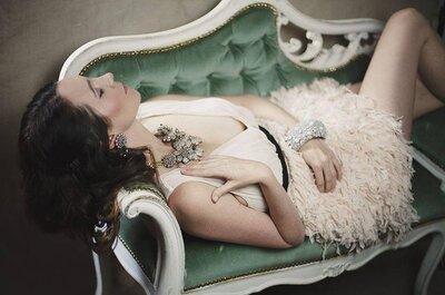 As novidades em acessórios para noivas da London Bridal Week 2015
