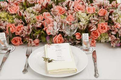 7 secretos para elegir el menú ideal en tu boda