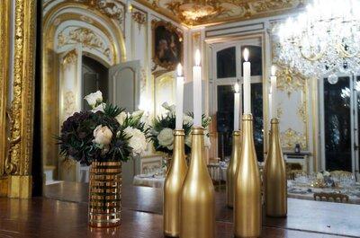 Bluffez vos invités par l'ambiance personnalisée et la décoration unique et sur-mesure de votre mariage