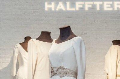 CARMEN HALFFTER expone sus trabajos de alta costura nupcial