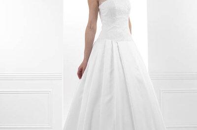 Créations Bochet : des robes de mariée féminines, modernes et coutures